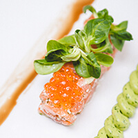 Label Rouge Scottish salmon tartar